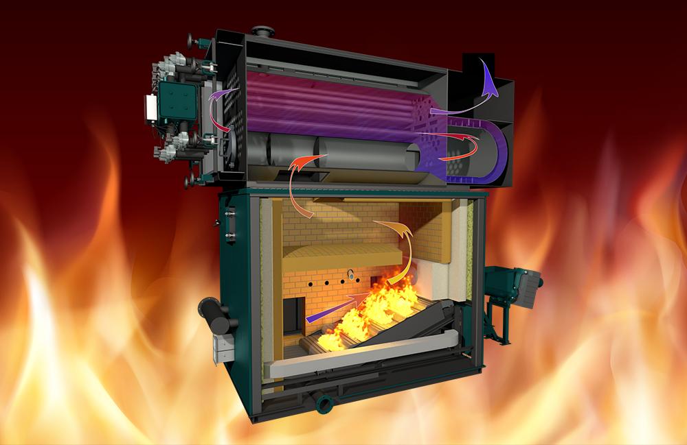 Plnoautomatické kotle pro spalování dřevní biomasy GREENTECH CS